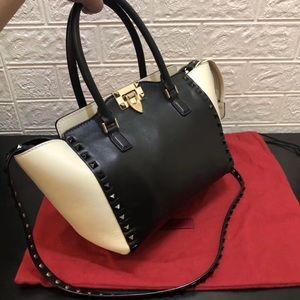 Valentino Garavani Bag black and white